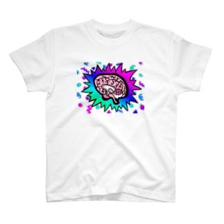 脳みそパンパカパーン T-shirts