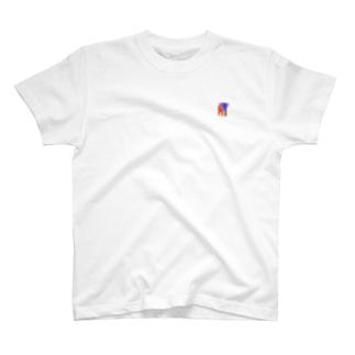 アフリカゾウ オンリー T-shirts