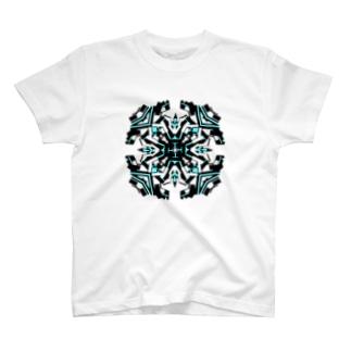 クロック(ウォーター) T-shirts