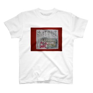 八女福島の燈籠人形 T-shirts