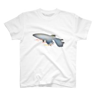 """""""@""""長いヒレの長い生活(メダカ) T-shirts"""