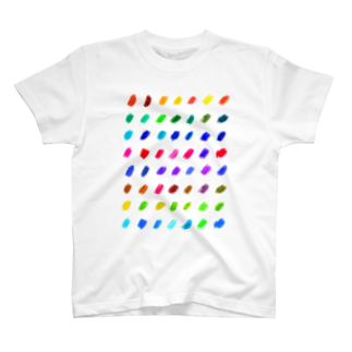 むきむき   地球生活のわたしパレット T-shirts