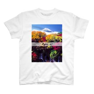 Fujisa〜n! AKI  T-shirts
