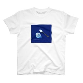 The moon on a rainy night T-shirts