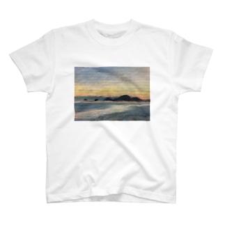 箕沖から仙酔島'-200928 T-shirts