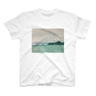 箕沖から仙酔島''-200928 T-shirts