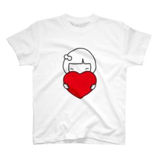 みーちゃんハート T-shirts