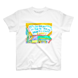 It's cloudy and raining in Tokyo But my HEART is always SUNNY:)  お出かけセット♪ T-shirts