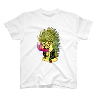 メロイック・ヘジホグ T-shirts