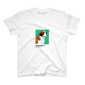 セント・バーナード St. Bernard T-shirts