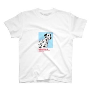ダルメシアン Dalmatian T-shirts