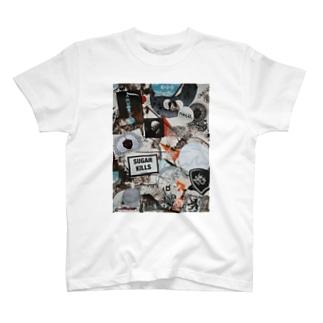 Street Art Wall Stickers T-shirts