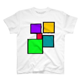 しかく5 T-shirts