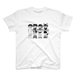 いろいろなスタイル T-shirts
