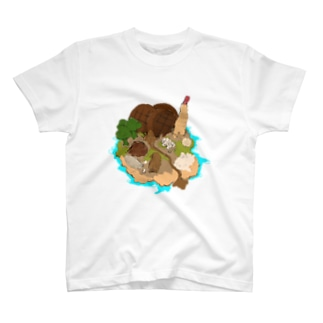 ごはんアイランド T-shirts