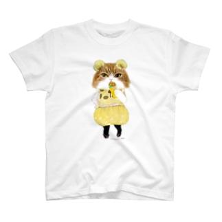 クレープ食べるにゃ T-shirts