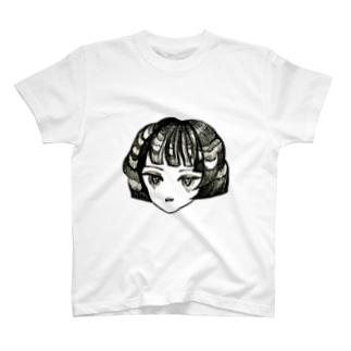 どくどくフェイス1 T-shirts