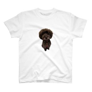 お座りヒュー T-shirts