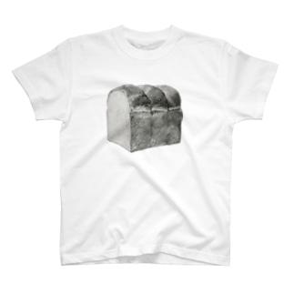 食パン(昼食) T-shirts