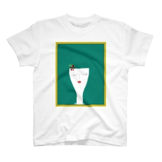 RETRO girl T-shirt T-shirts