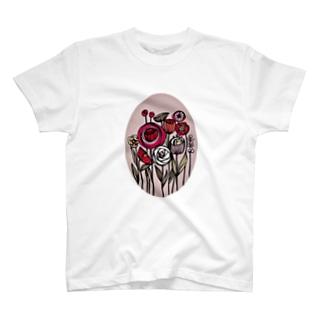 おとなフラワー。 T-shirts