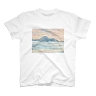 箕沖から仙酔島''' T-shirts