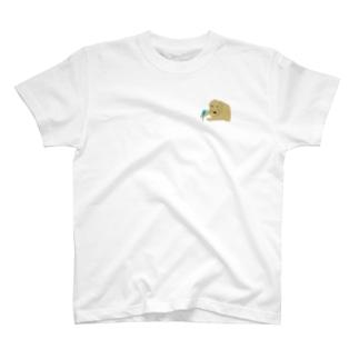 セキセイとゴールデン T-shirts