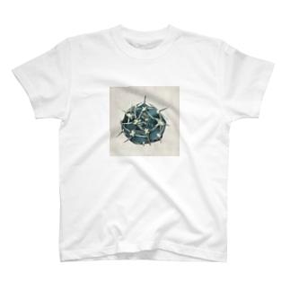 サボテンのイラスト T-shirts