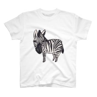 しまうま T-shirts