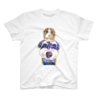 M-SUZURIのモルシュナ☆クリア T-Shirt