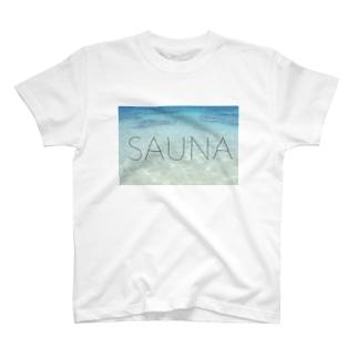 sauna水風呂 T-shirts