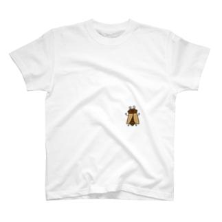あ!セミさんがとまっているよTシャツ T-shirts