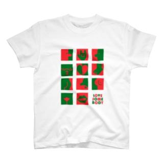 Seto HiroakiのLOVE SOMEBODY T-shirts