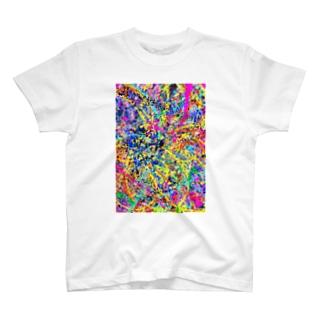 YELLOW COSMOS T-shirts