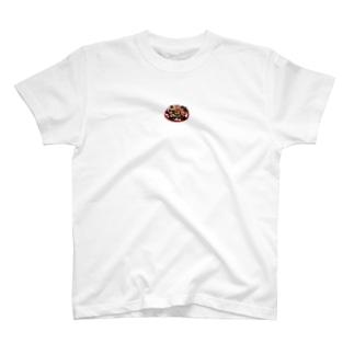 食べ物 T-shirts