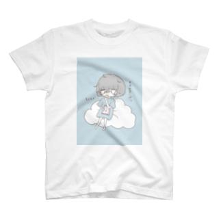 ゆる鬱少女(食ver.) T-shirts