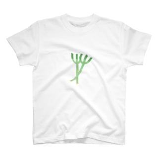 yorimichiのねぎ T-shirts