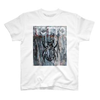 ペイントグラフィック/コガネムシ T-shirts