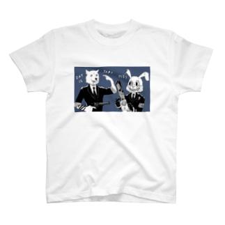 キラーバニー&レザボアドッグ T-shirts