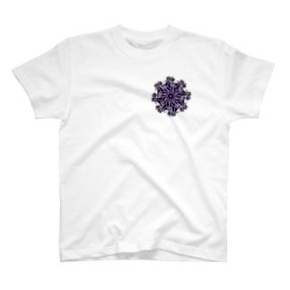 ギア(パープル) T-shirts