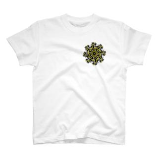 ギア(イエロー) T-shirts