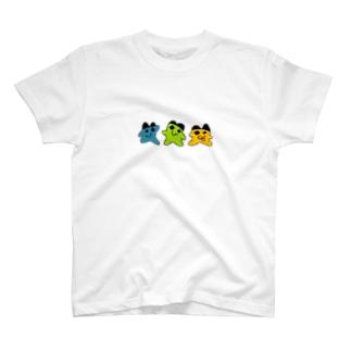 ドット絵3兄弟 T-shirts