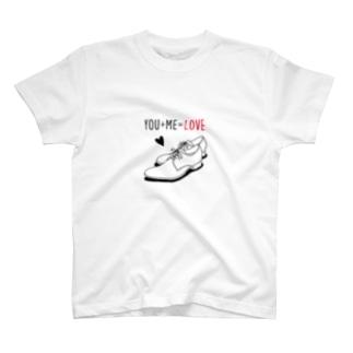 YOU+ME=LOVE T-shirts