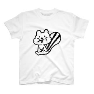 ほおばリス T-shirts
