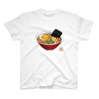 おしまいラーメン T-shirts