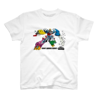 GIANT AMABIE ROBOT T-shirts