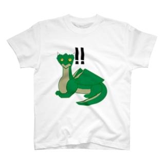気付いたドラちゃん T-shirts