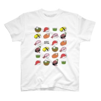すしふとんパターン T-shirts