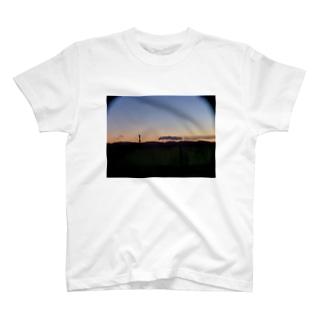 ぼやっと夕やけ T-shirts
