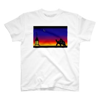 兎と亀 T-shirts